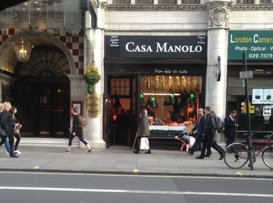 Casa Manolo en Londres