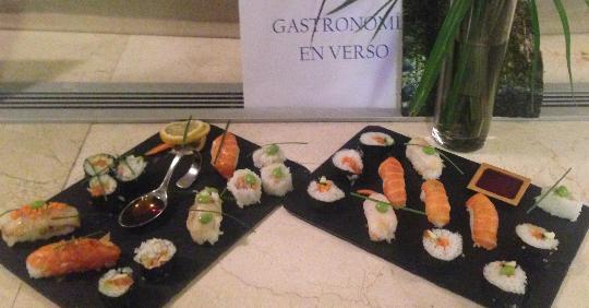 Gastronomía en Verso presenta su menú asiático